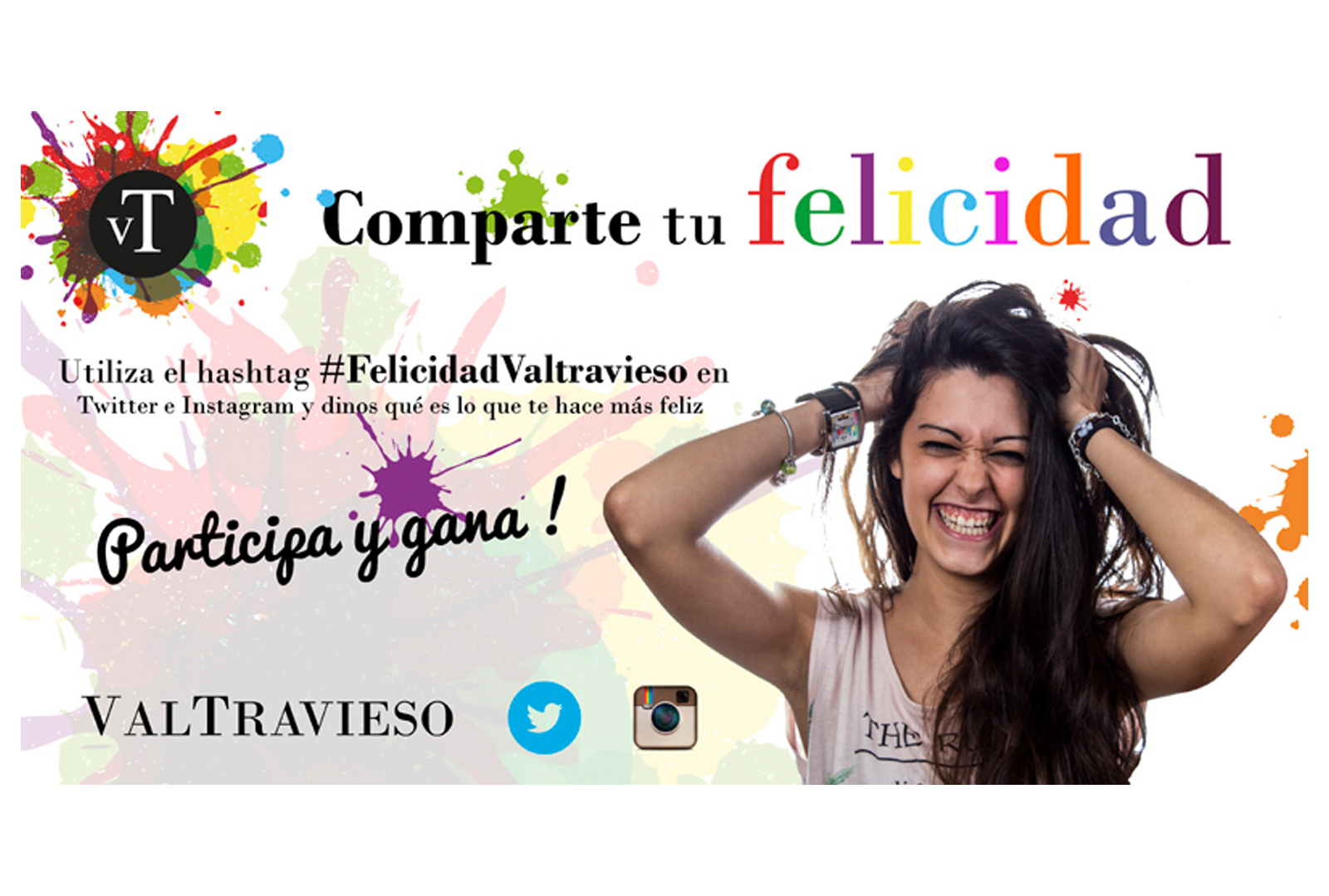 Rellena tu botella de felicidad con Valtravieso.