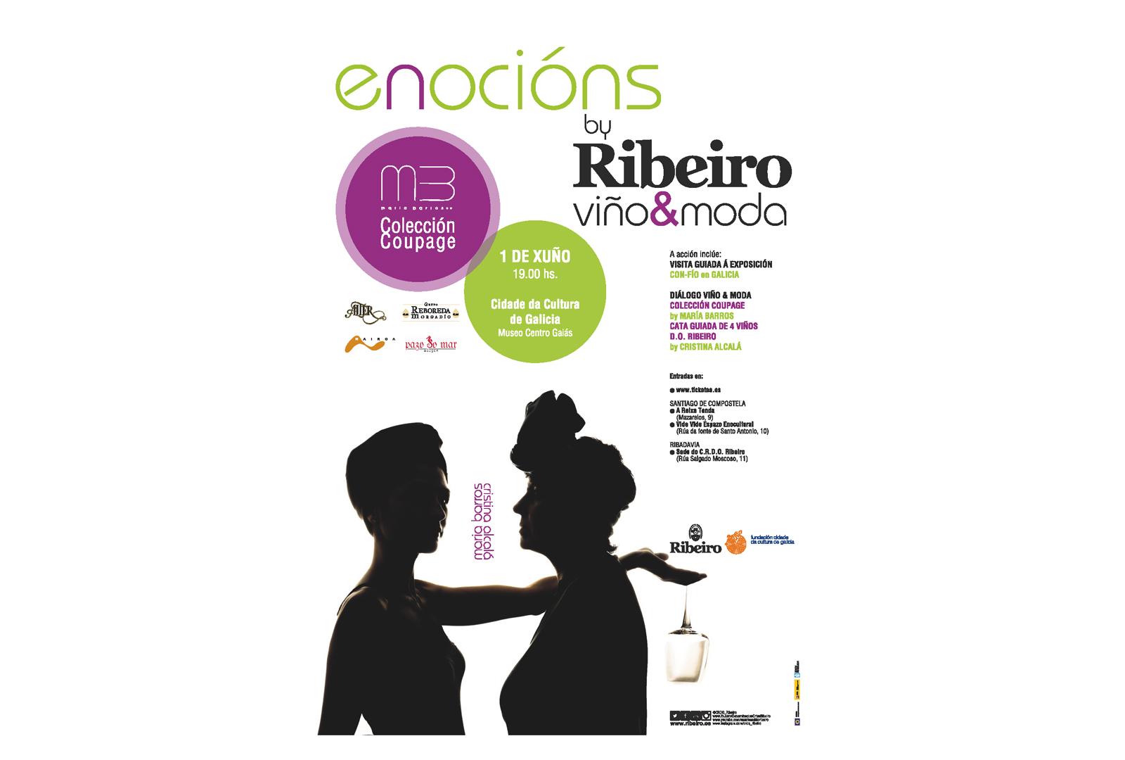 ' Coupage ' de María Barros. Enocións by Ribeiro.