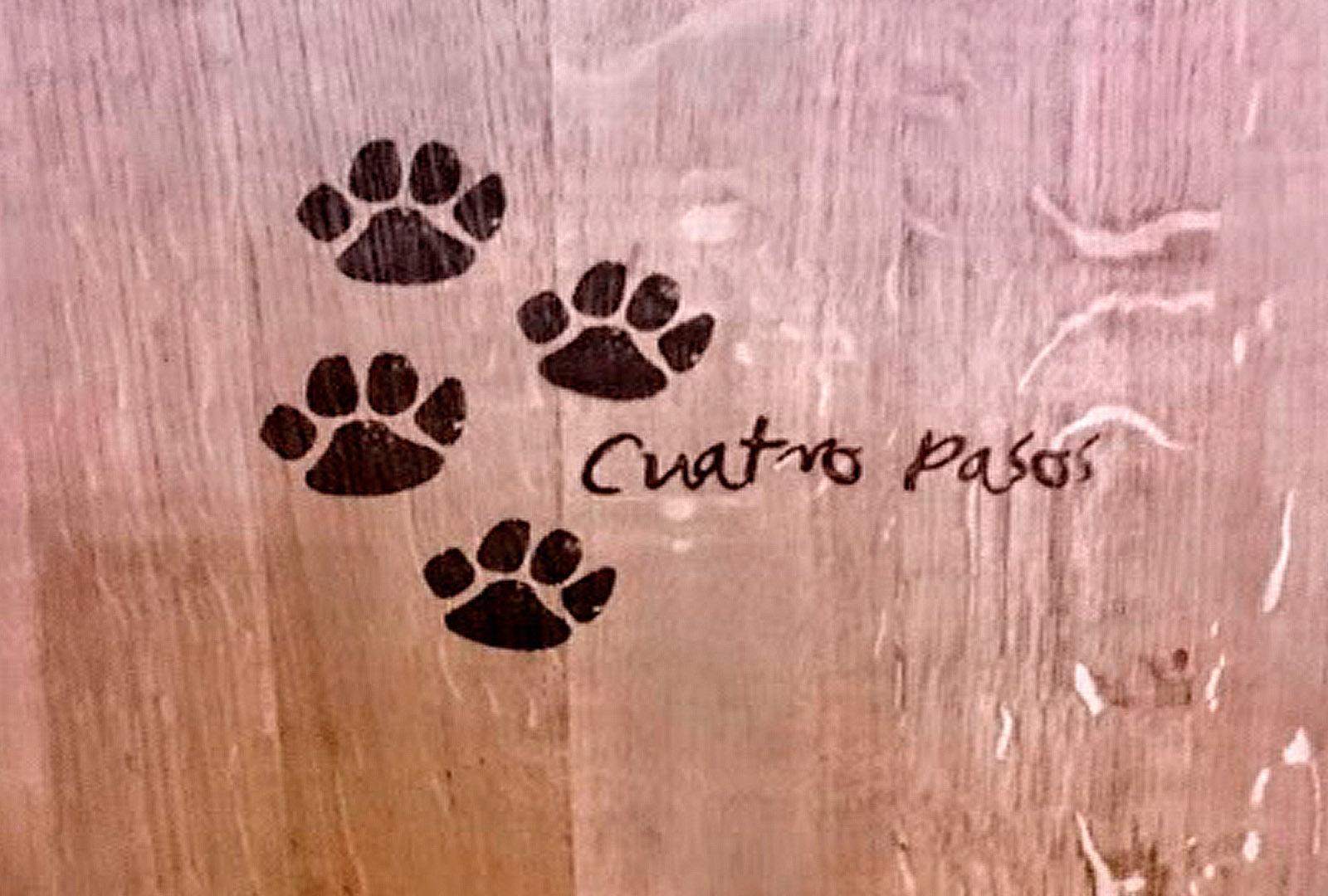 """Cuatro Pasos, la """"Bodega del Oso""""."""