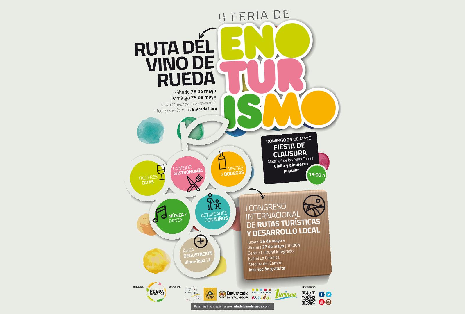 Ruta del Vino de Rueda presenta sus eventos primaverales.