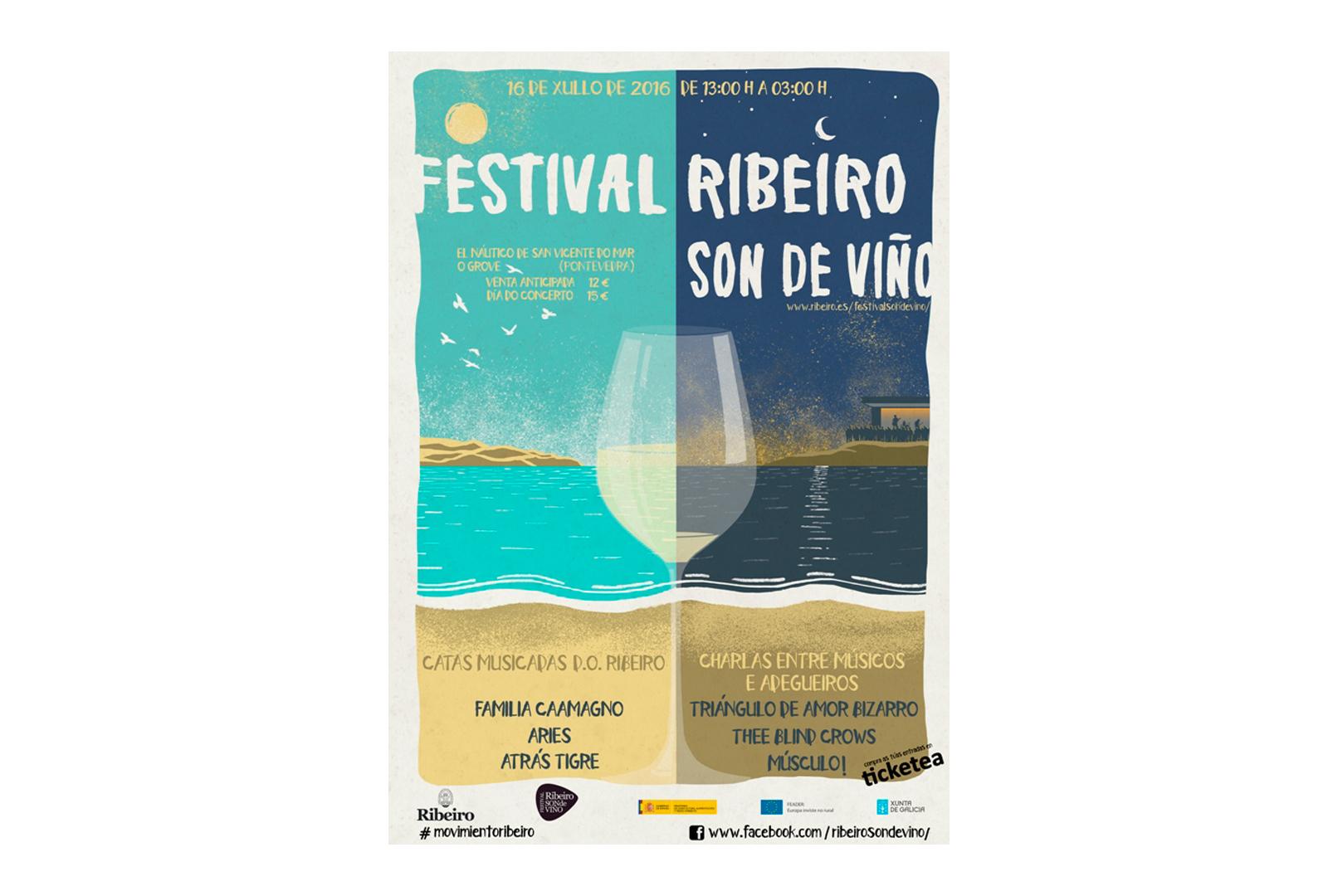 Tercera edición de Ribeiro Son de Viño.