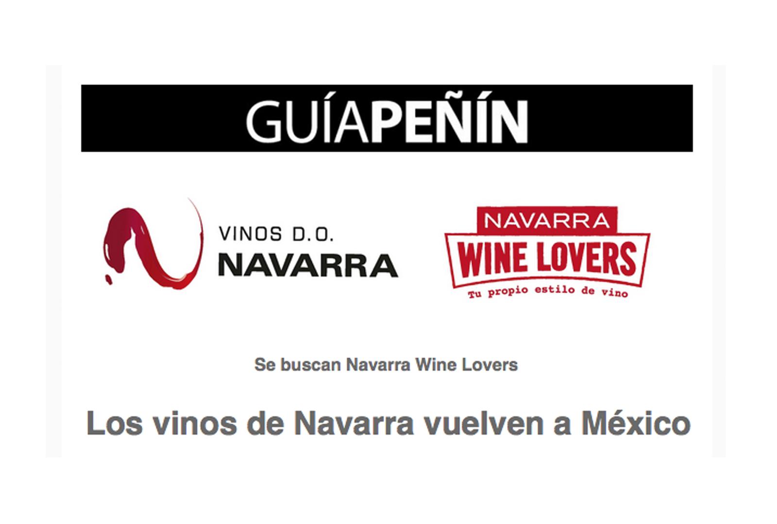 Se buscan Navarra Wine Lovers.