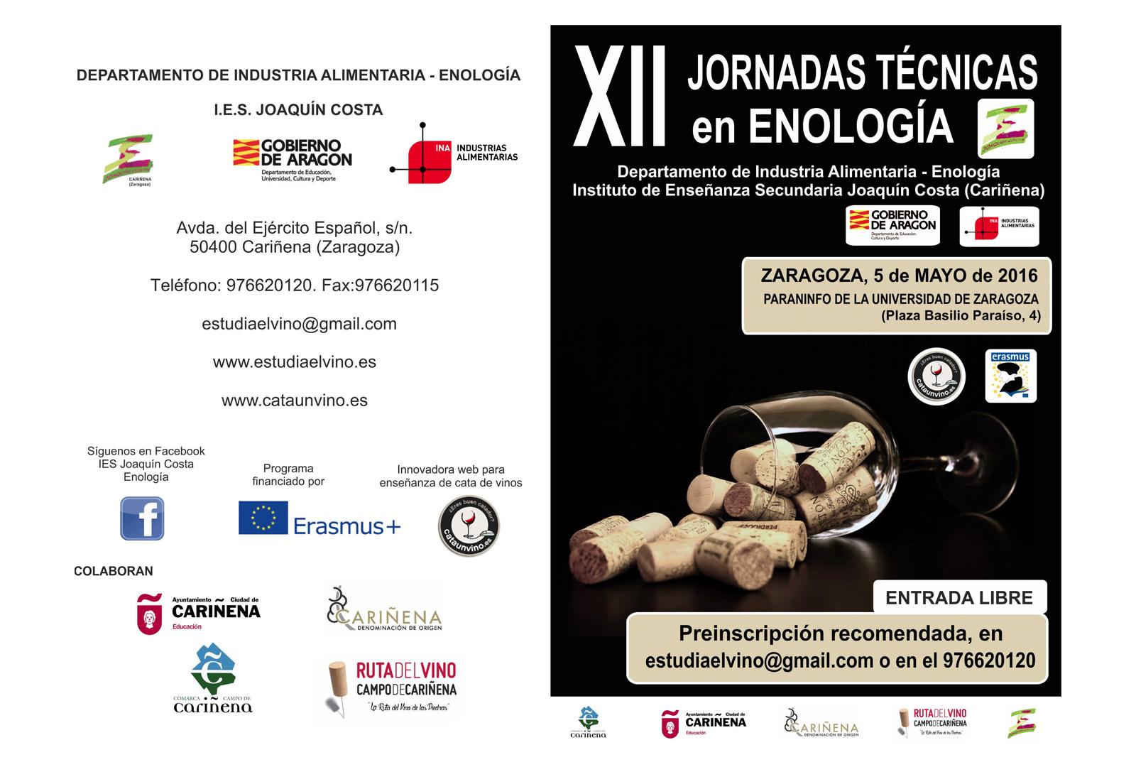 Jornadas Técnicas en Enología.