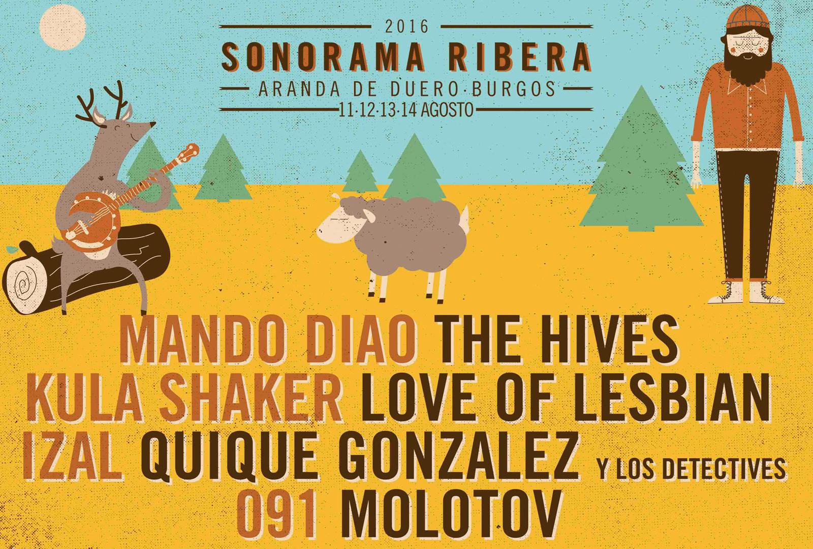 Sonorama Ribera 2016, diseña su camiseta.