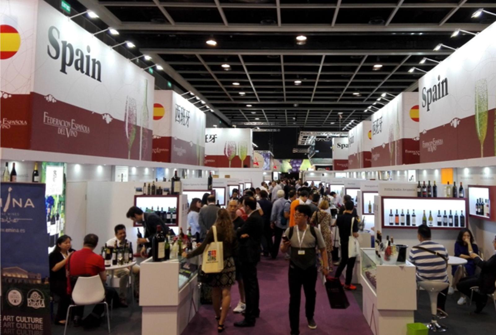 Vinexpo Hong Kong, aumento de visitantes extranjeros.