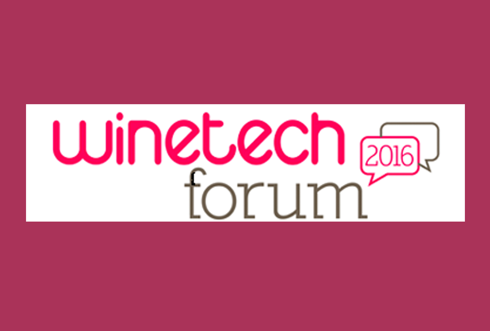Winetech Forum 2016.