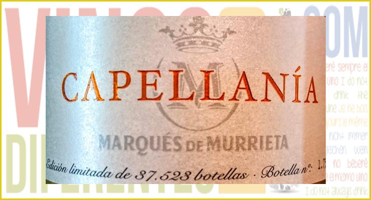 Capellanía de la bodega riojana Marqués de Murrieta.
