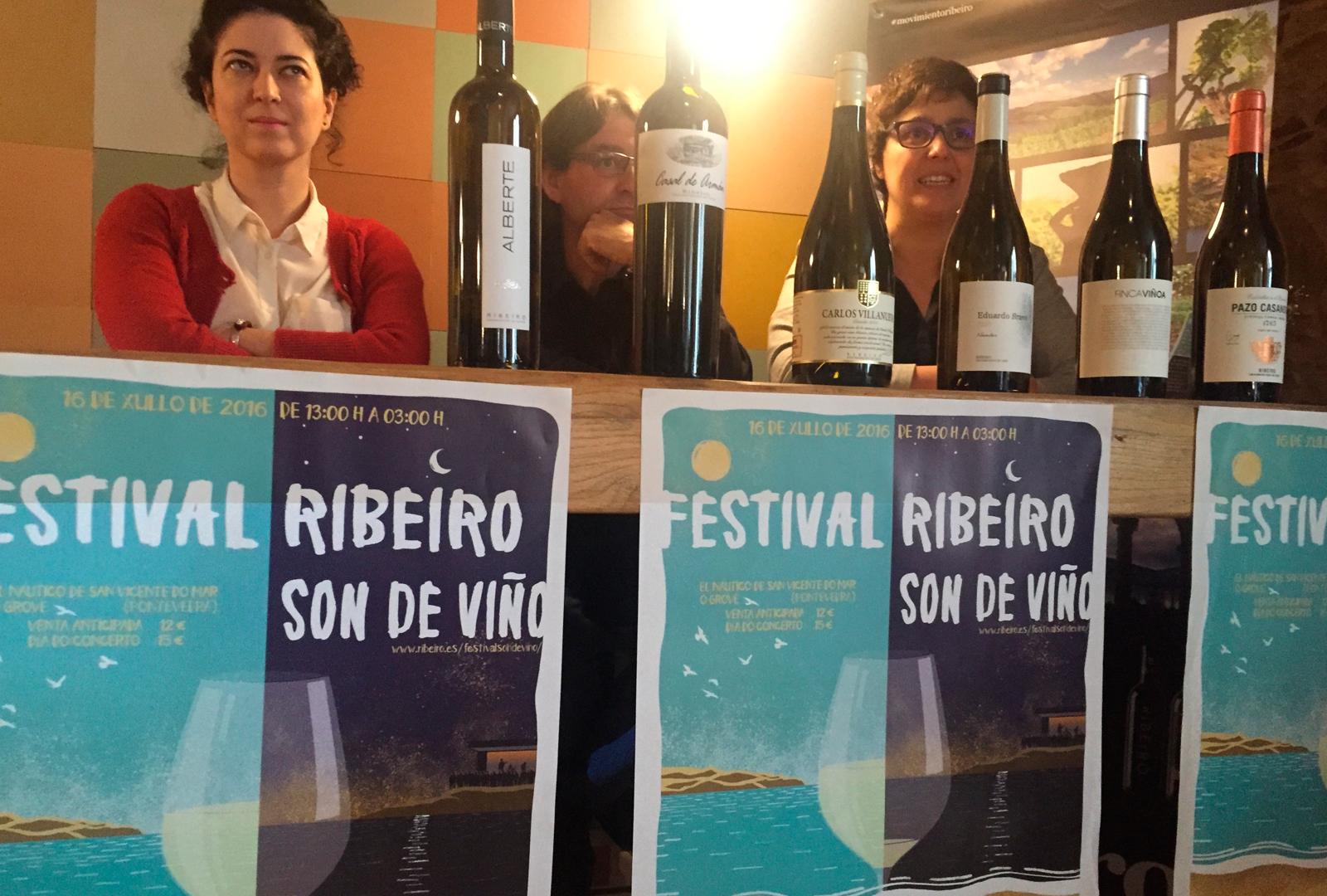 III Festival Ribeiro Son de Viño.