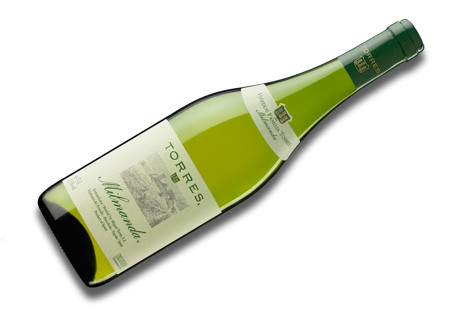 Milmanda de Bodegas Torres, el vino europeo preferido.
