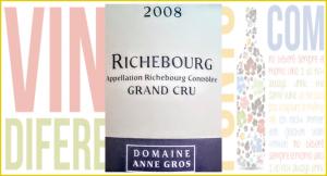 Richebourg 2008. Un gran vino de Anne Gross