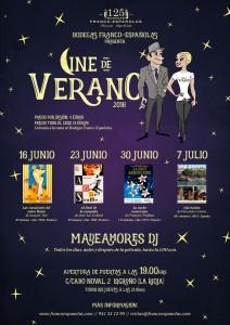 Cine de verano en Bodegas Franco Españolas