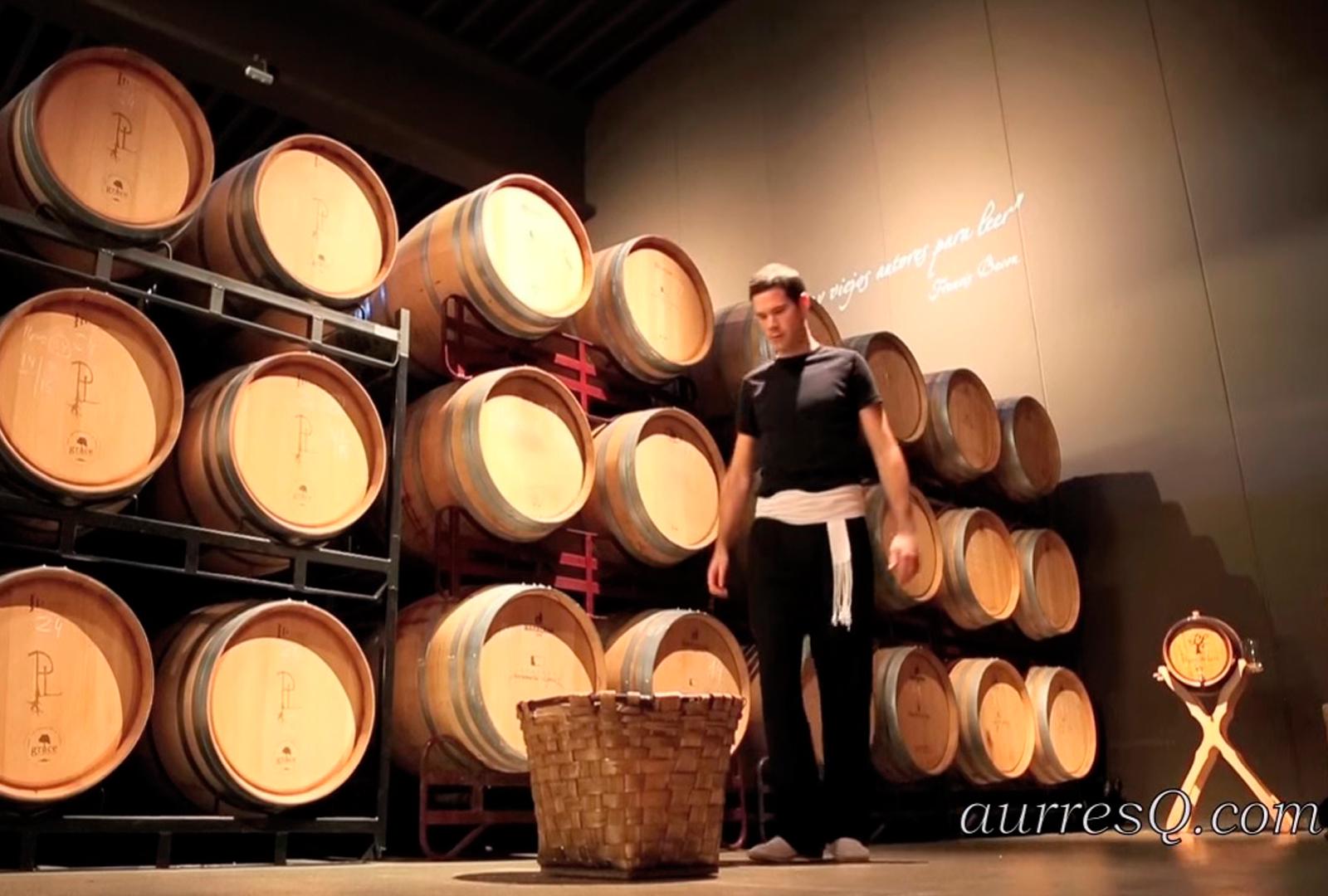 Danza del Vino en Bodegas Pagos de Leza