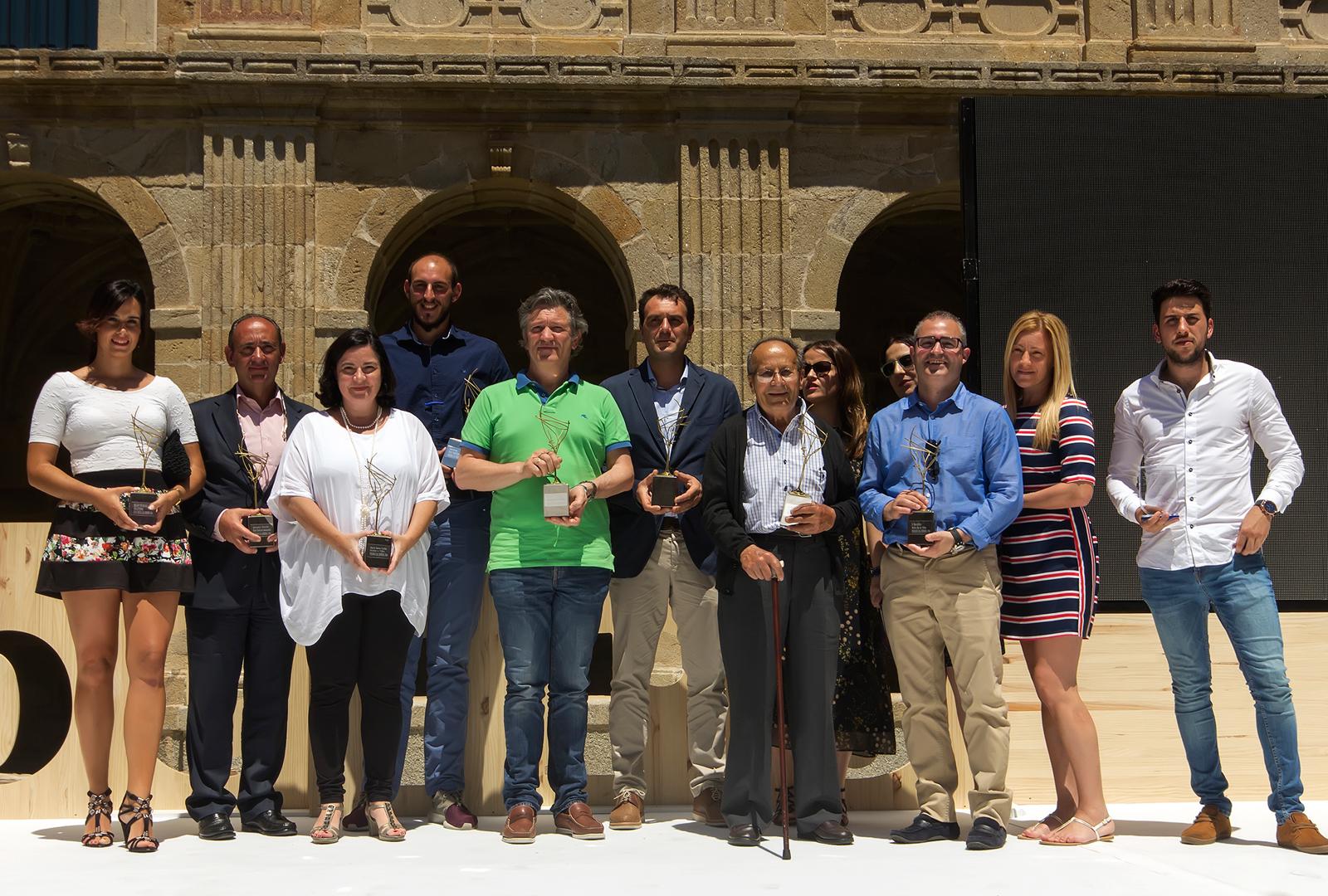 Gala de los premios denominación Ribeiro se brindó.