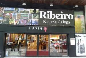 La D.O. Ribeiro, protagonista de las tiendas Lavinia de Madrid