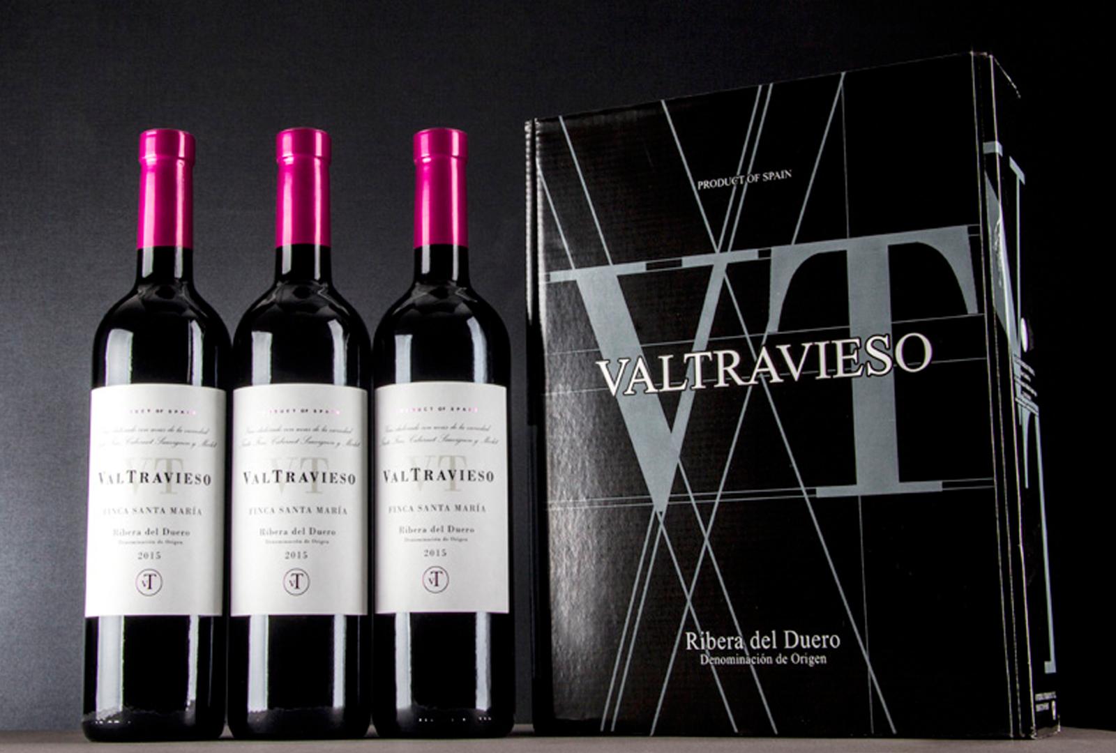 Finca Santa María el nuevo vino de Valtravieso.
