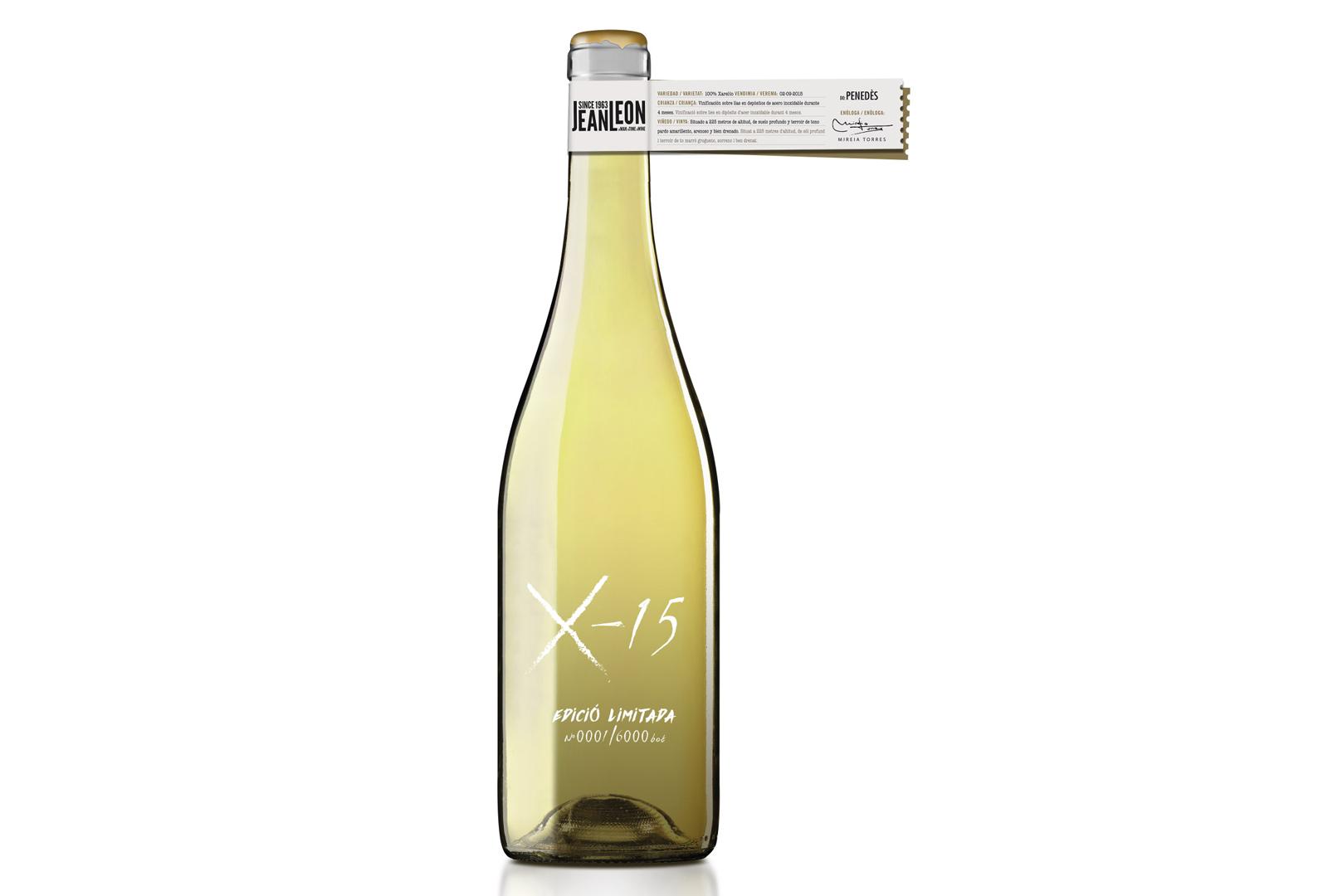 X-15 nuevo vino experimental de Jean Leon