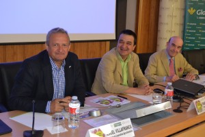 Ángel Villafranca, Francisco Martínez y Rafael Torres