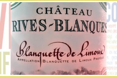 Blanquette de Limoux. Château Rives-Blanques