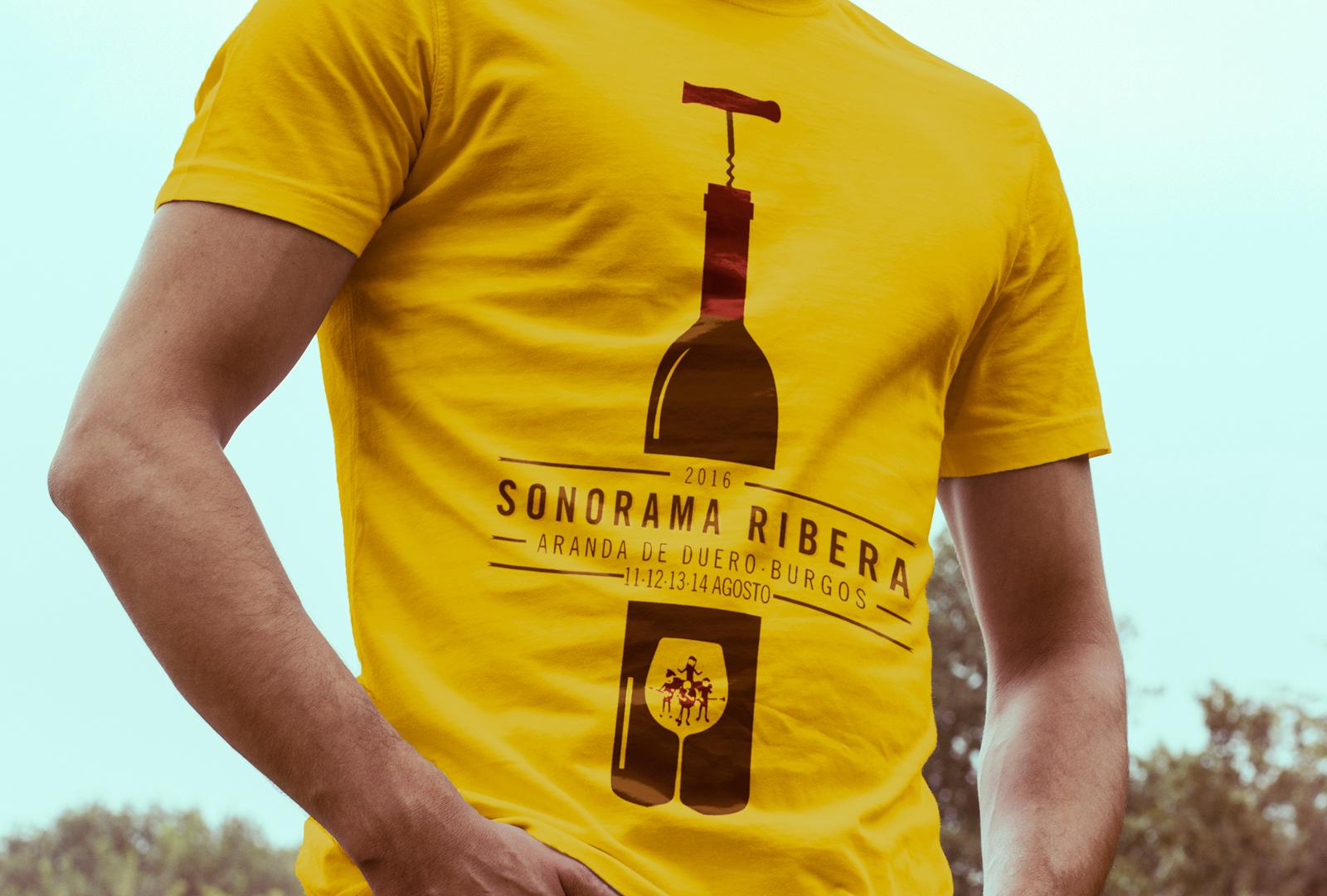 Sonorama Ribera 2016 ya tiene camiseta
