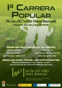 Rías Baixas organiza su 1ª Carrera Popular