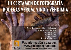Certamen nacional de fotografía Verum, Vino y Vendimia