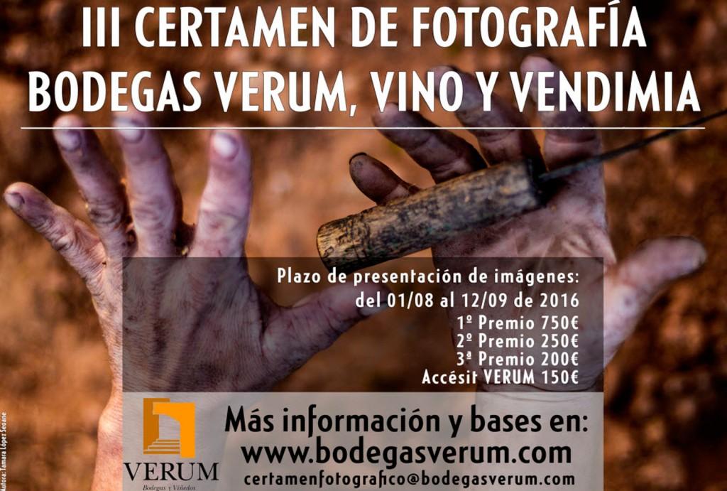 Certamen nacional de fotografia Verum