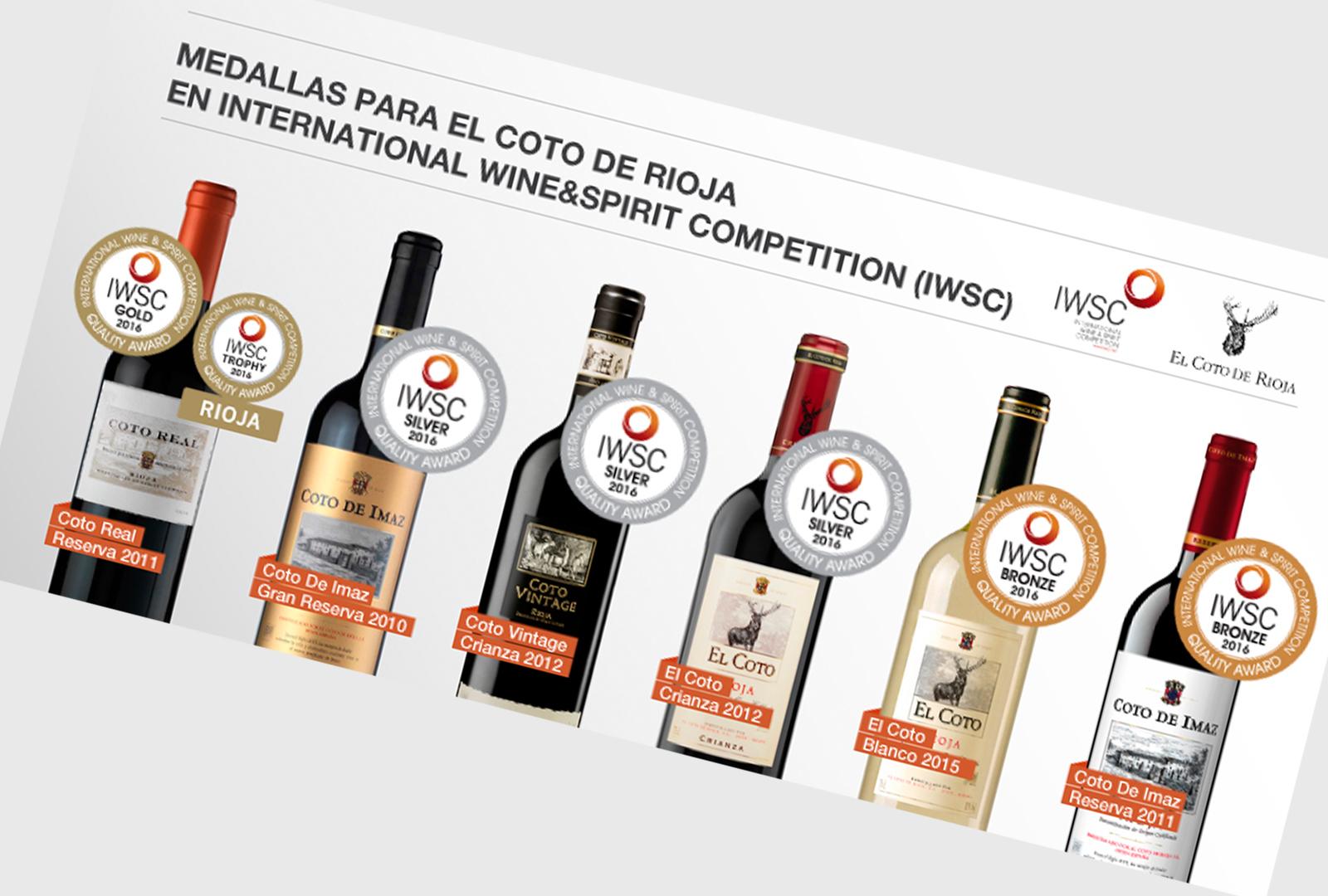 Coto de Rioja se da un baño de medallas.