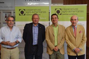 José Luis Rojas, Ángel Villafranca, Francisco Martínez y Rafael Torres