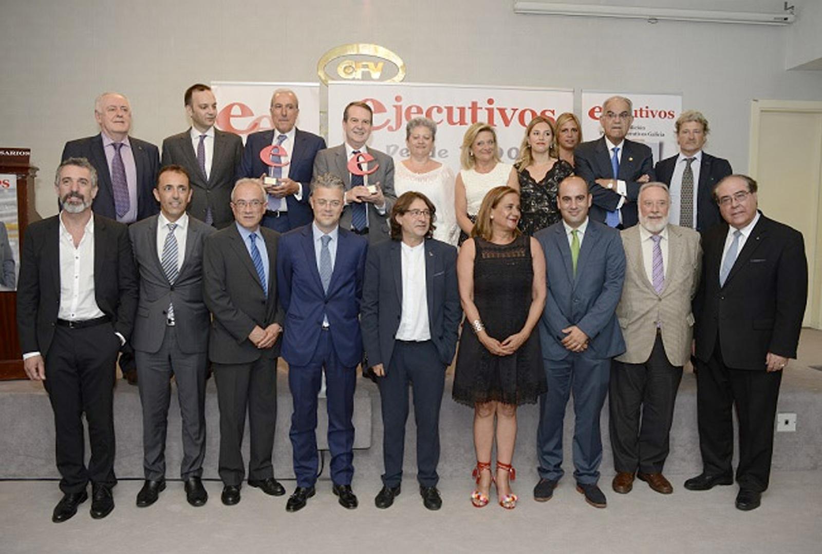 Premios Ejecutivos Galicia 2016. D.O. Ribeiro