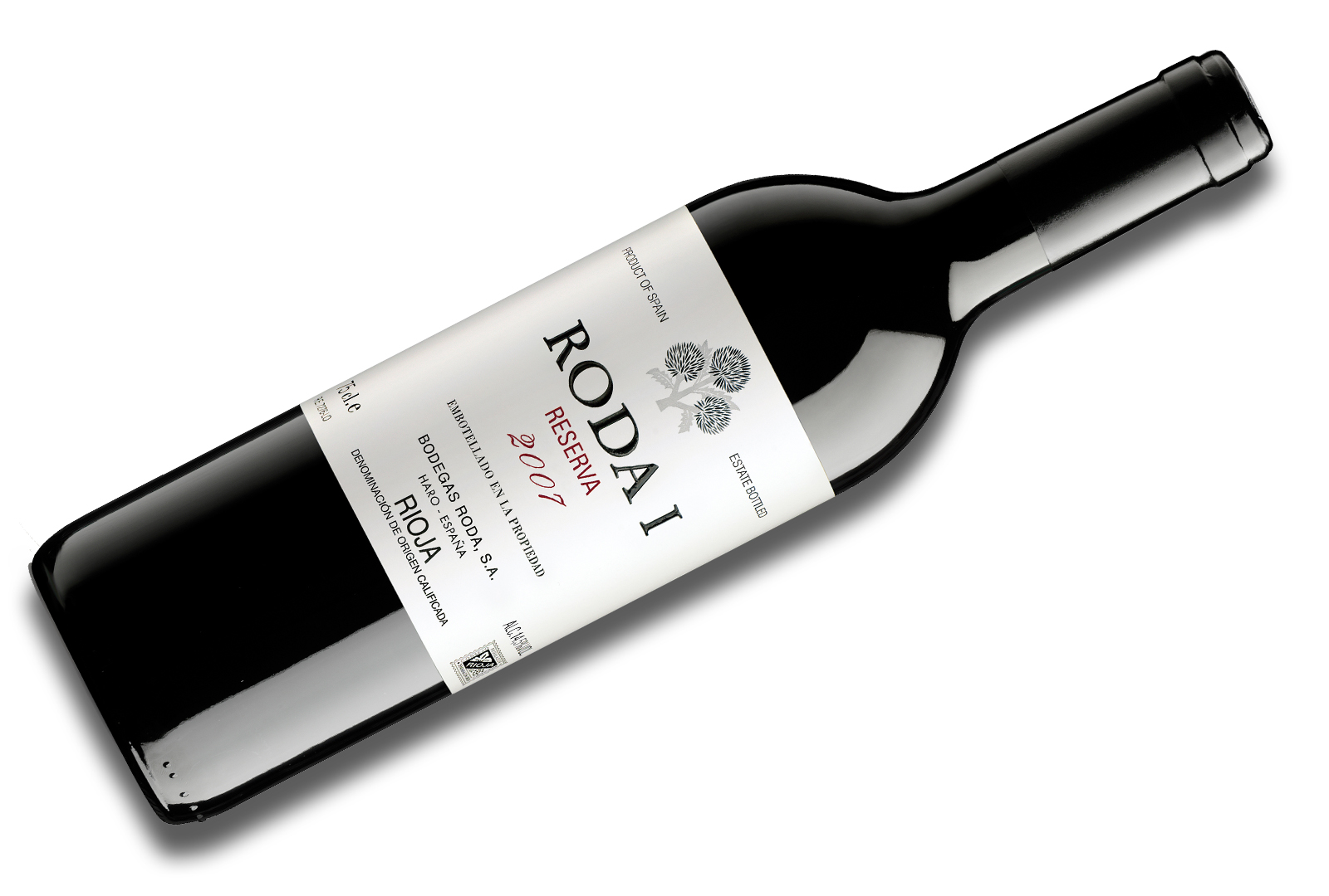 "RODA I 2007 nombrado ""Best Wine of The World Rioja"""