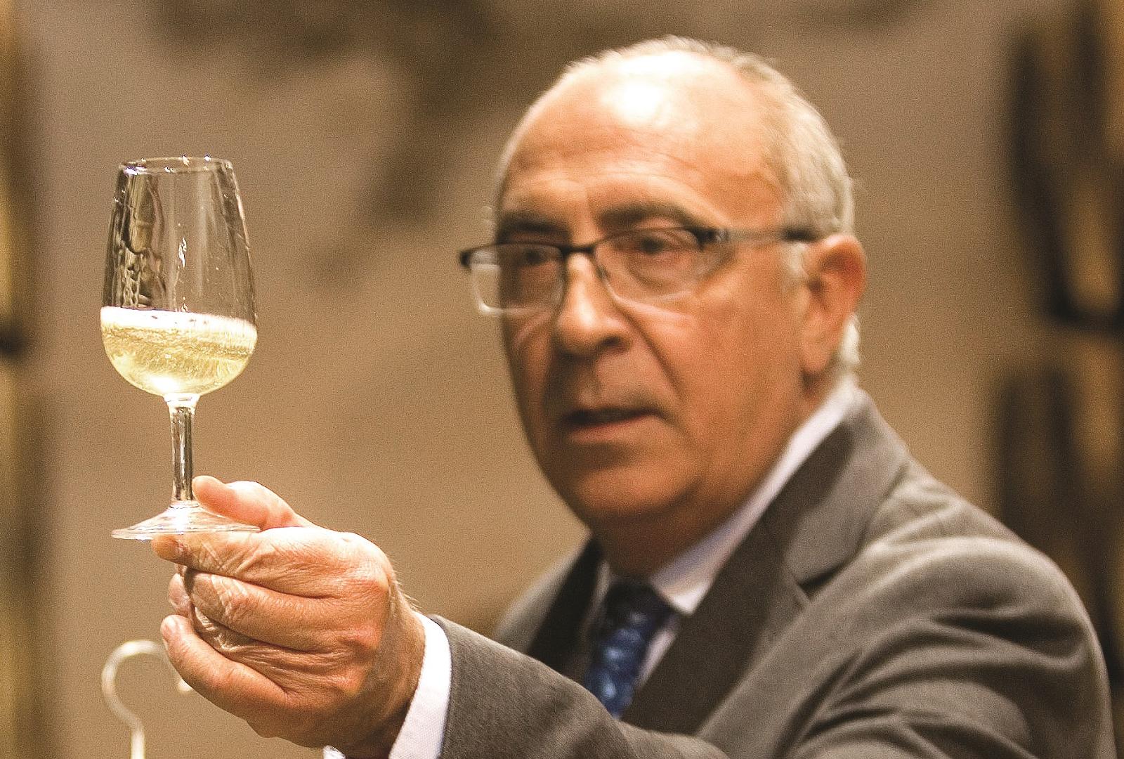 Antonio Flores, enólogo de González Byass.