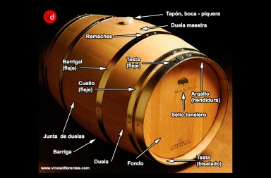 barrica roble vino
