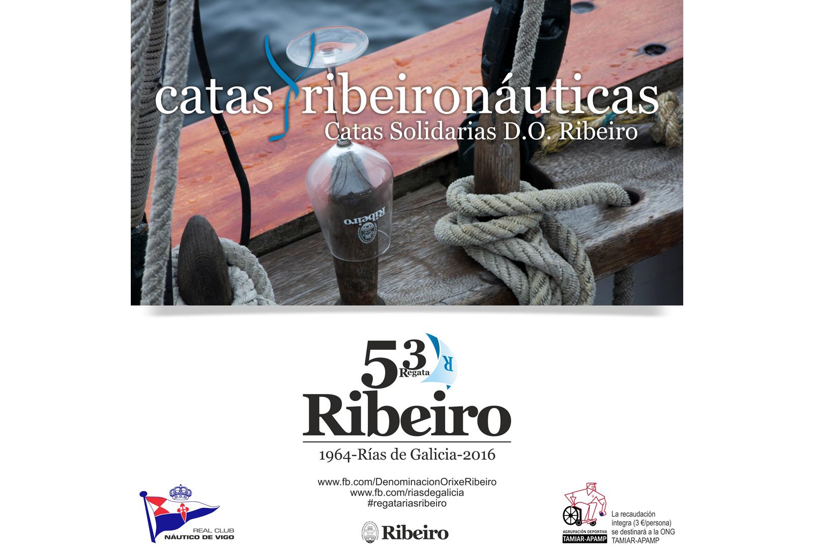 Catas solidarias abre la Regata Ribeiro