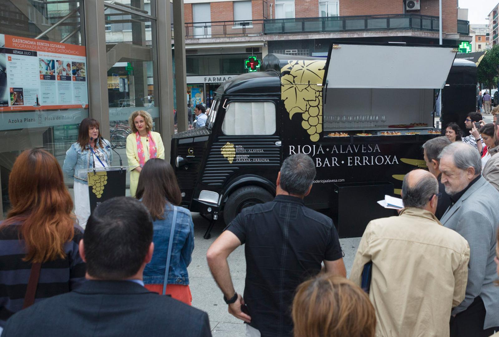 Rioja Alavesa se promocionará con un Food Truck.