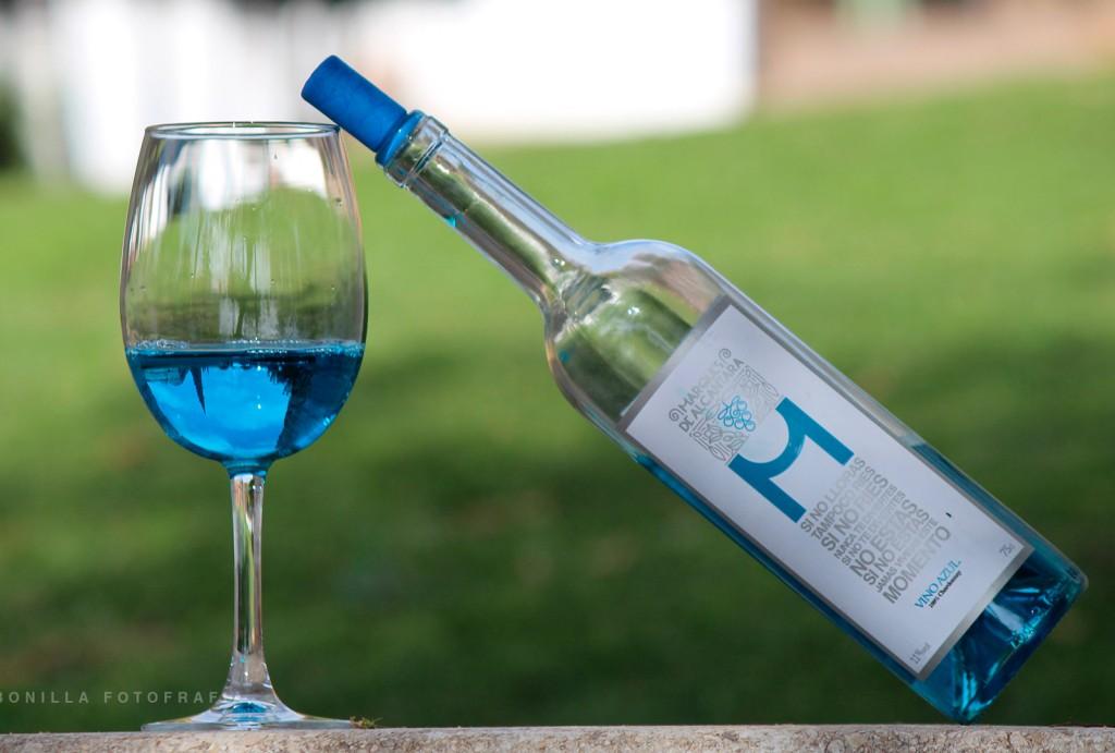 marques de alcantara vino azul
