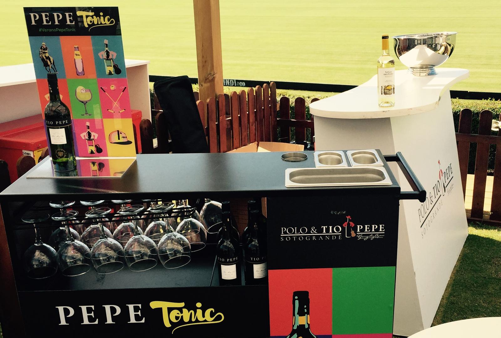 Tío Pepe vino oficial del Torneo Polo Club Sotogrande.