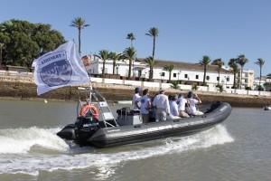 Travesía Tío Pepe por el río Guadalete