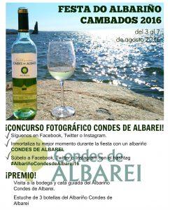 Condes de Albarei celebra su II Concurso Fotográfico de la Fiesta del Albariño en Redes Sociales