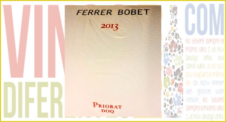 Ferrer Bobet 2013.  D.O.C. Priorat (Cataluña).