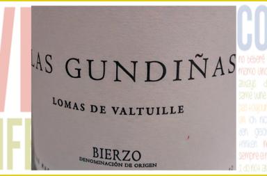 Sobria etiqueta de Las Gundiñas 2013