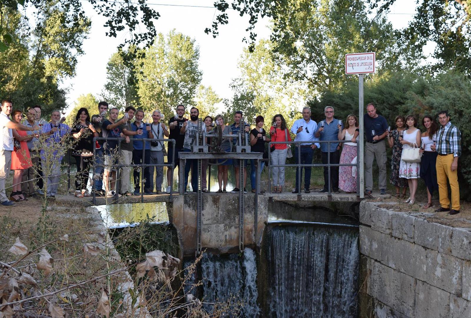 El Canal de Castilla como recurso enoturístico.