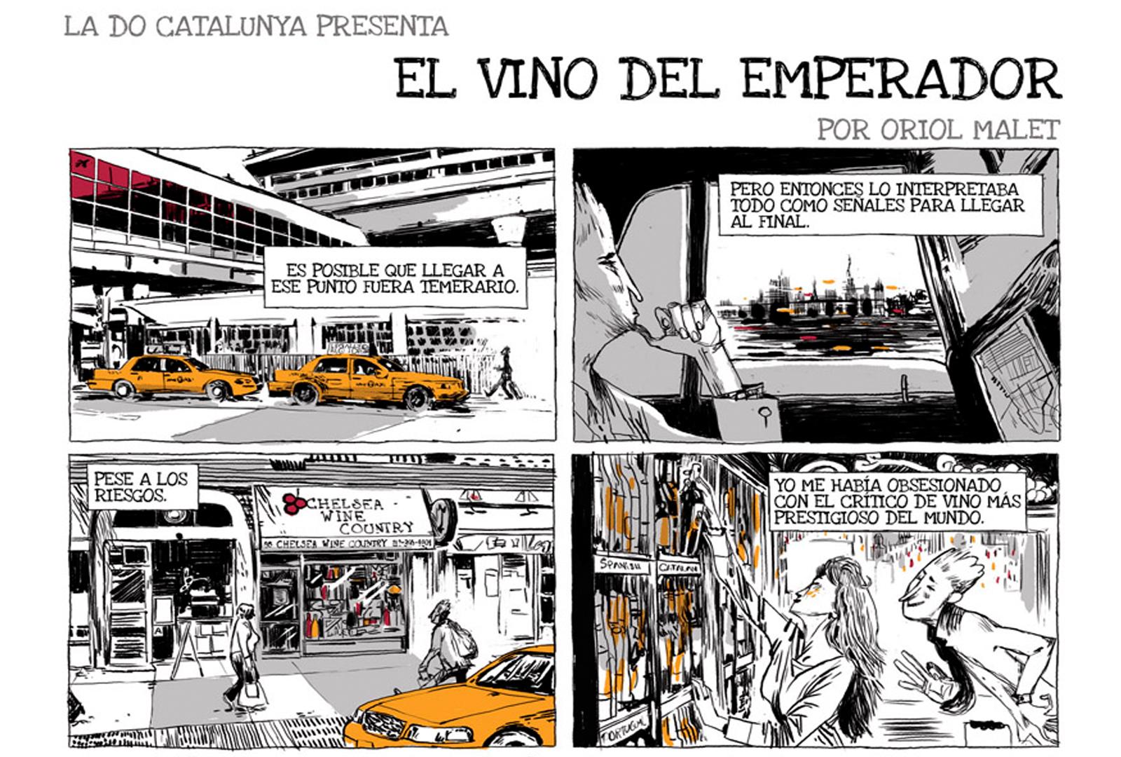 El Vino del Emperador. Oriol Malet firma el cuarto Vinomic.
