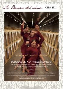 Cepa 21 presenta Vinum: La Danza del Vino