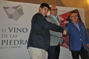 Antonio Ubide, Luis Vaquer y Jose Luis Campos