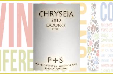 Sobria etiqueta de Chryseia 2013