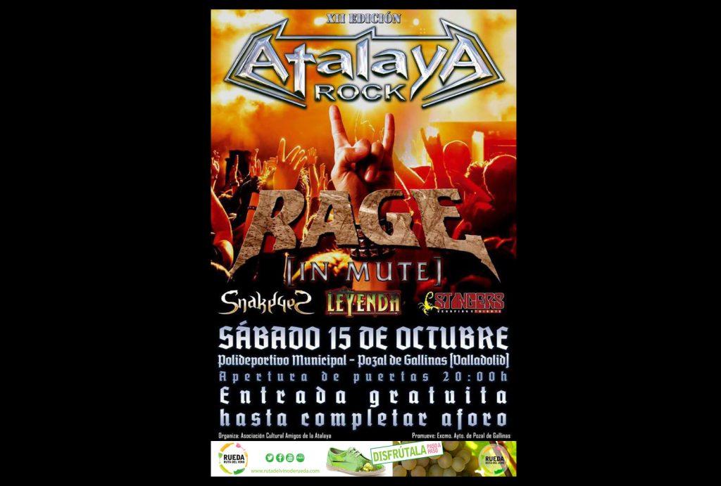 Festival Atalaya Rock, cita musical del otoño enoturístico. - VINOS DIFERENTES