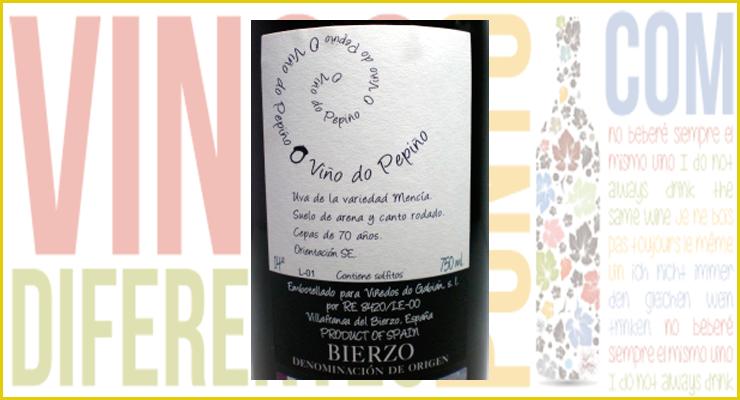 O Viño do Pepiño 2011. Viñedos do Gabián.