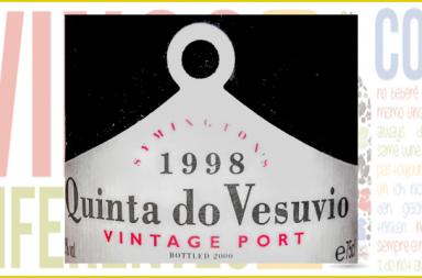 Quinta do Vesuvio Vintage Port 1998