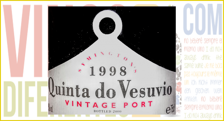 Quinta do Vesuvio Vintage Port 1998