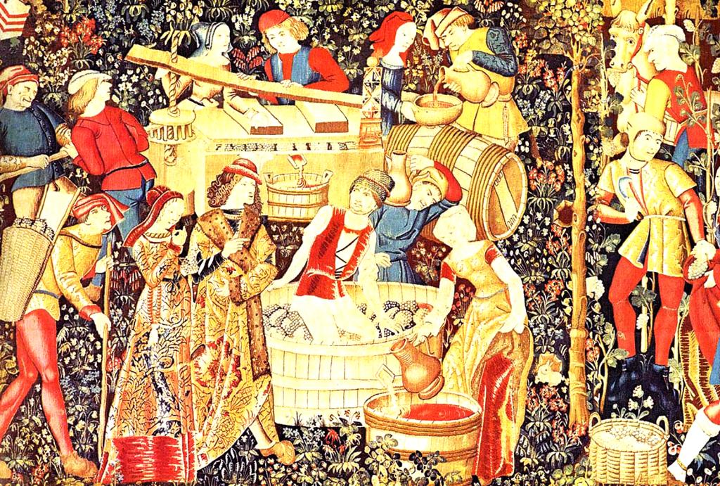Historia del Vino durante la Edad Media. - VINOS DIFERENTES
